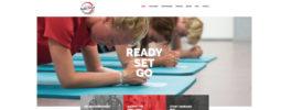Nieuwe website sportschool Ready Set Go