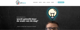 Lifeness Coaching website nu ook online