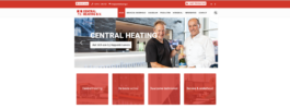Nieuwe website Central Heating