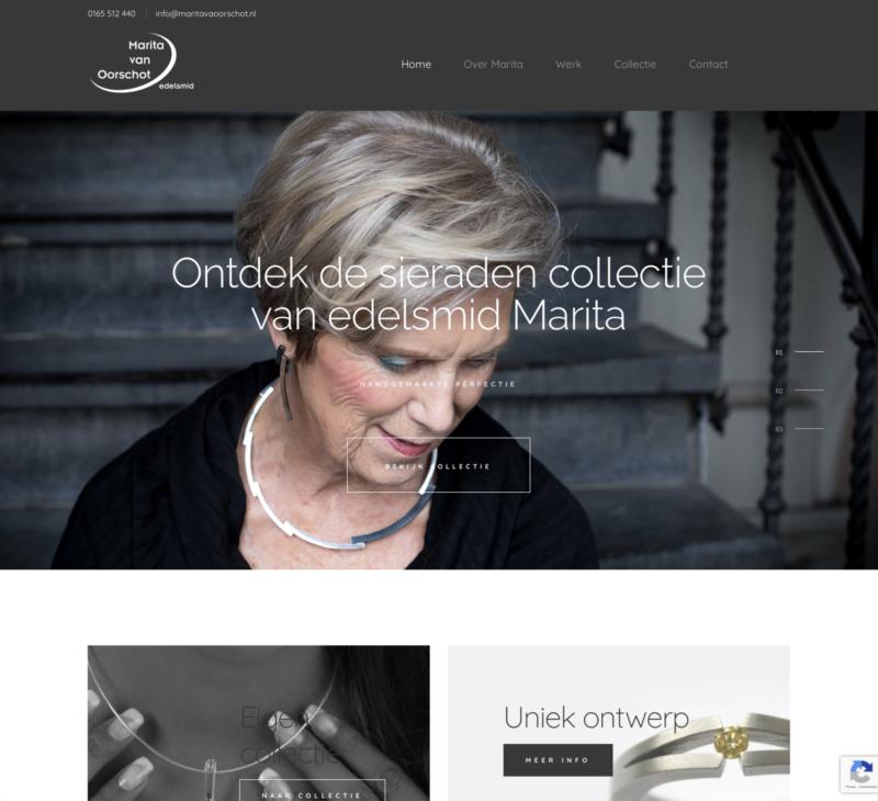 nieuwe site Edelsmid Marita van Oorschot homepage - Cool Clogs